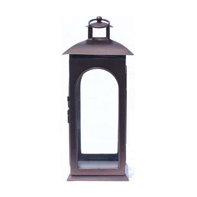 14 in. Copper Metal Lantern