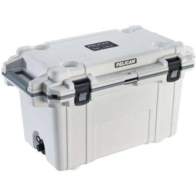 70 Qt. White Elite Deluxe Cooler