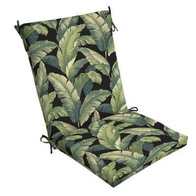 20 x 20 Onyx Cebu Outdoor Dining Chair Cushion