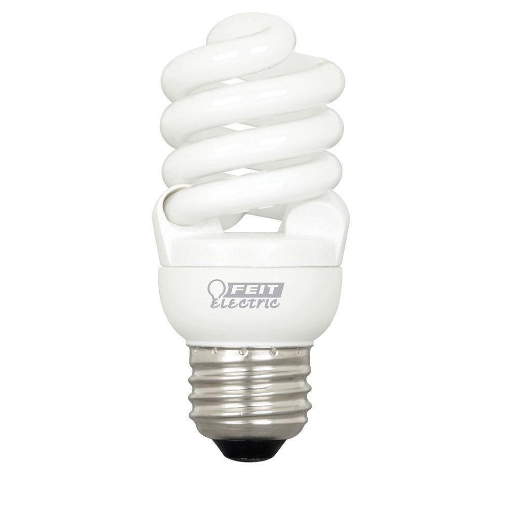 Feit Electric 60-Watt Equivalent Soft White T2 Spiral CFL Light Bulb (24-Pack)