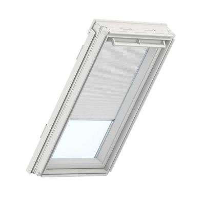 White Manual Room Darkening Skylight Blinds for GPU UK08 Models