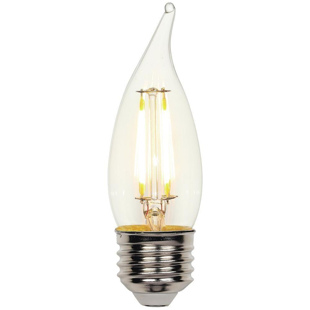 Westinghouse 40w Equivalent Amber St20 Dimmable Filament: Westinghouse 40W Equivalent Soft White (2,700K) Decorative
