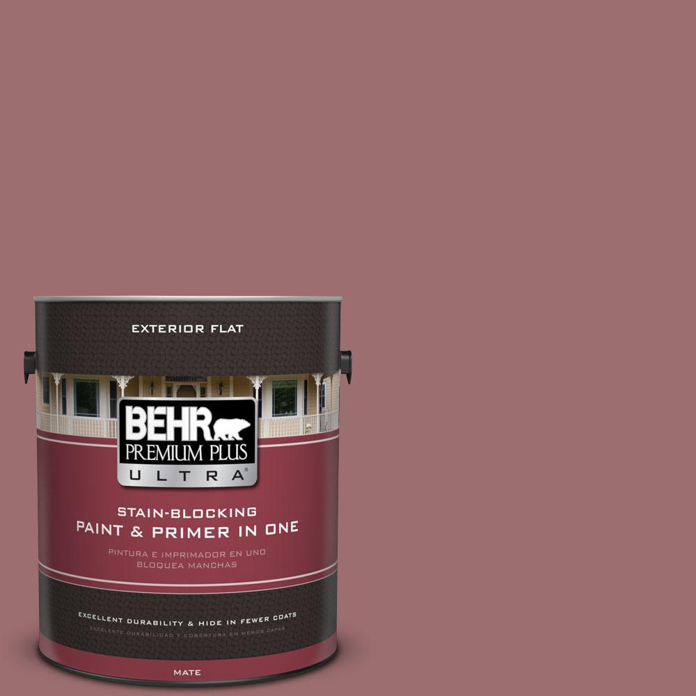 1-gal. #150F-5 Mulled Wine Flat Exterior Paint