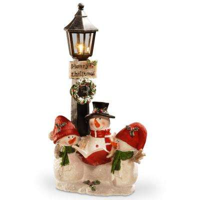 13 in. Lighted Christmas Decor Piece