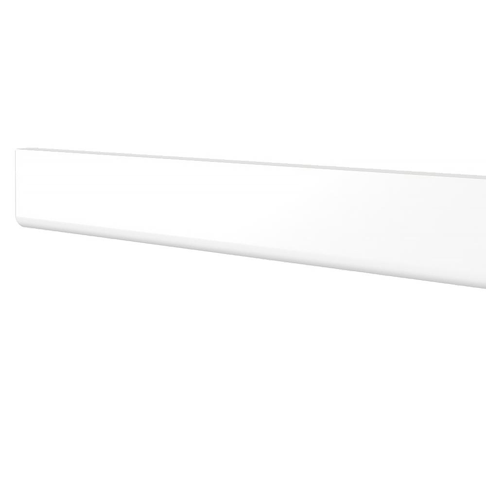 Scribe Molding In White