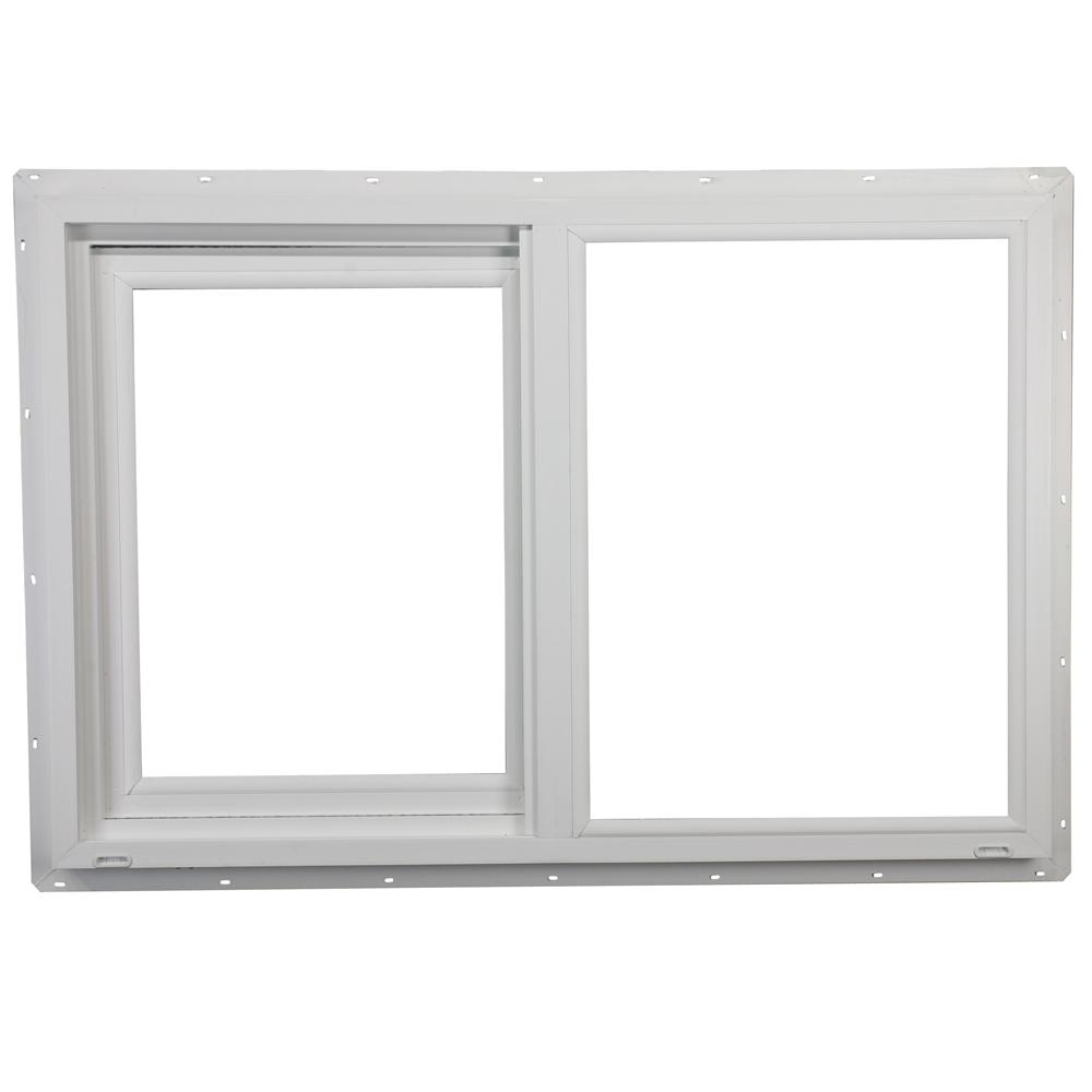 23.5 in. x 23.5 in. 400 Series Left-Hand Sliding Vinyl Window