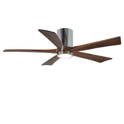 Rylie 52 in. 5-Blade Polished Chrome Ceiling Fan