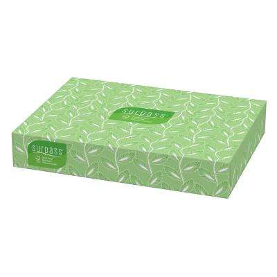 Surpass Facial Tissue 2-Ply (100-Count)