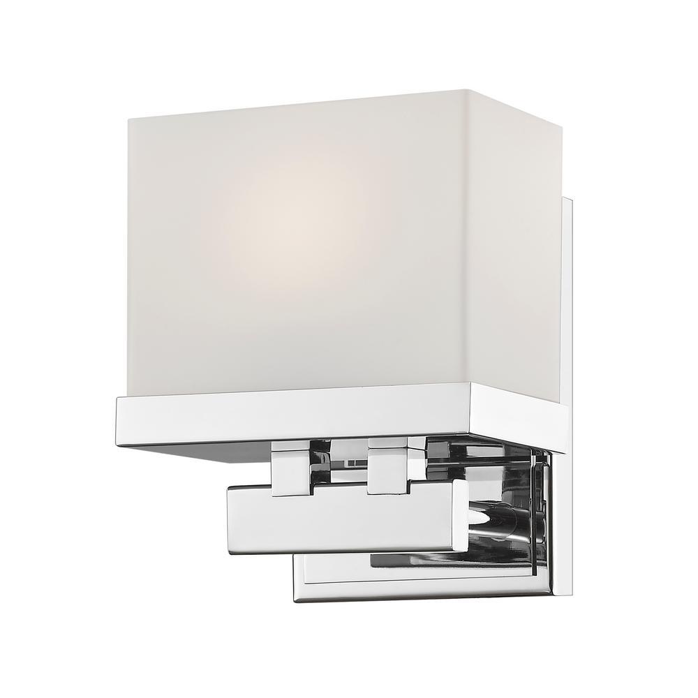 Auge Chrome 8-Watt Integrated LED Bath Light