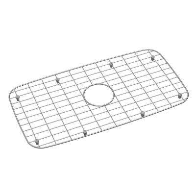 Stainless-Steel Kitchen Sink Bottom Grid Fits Bowl Size 28 in. x 15.75 in.