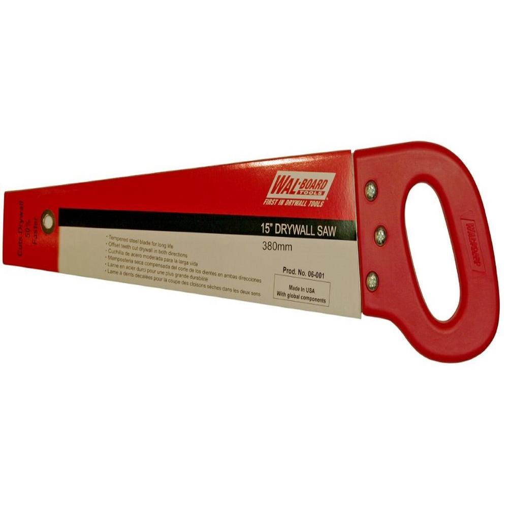 QLT By MARSHALLTOWN US920 6-Inch Drywall Utility Saw