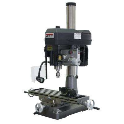 JMD-18PFN 2 HP 1PH 115-Volt/230-Volt Mill Drill Press with Power Downfeed