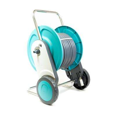 Concept Plus 1.5 in. Dia x 75 ft. Hose and Reel Trolly in Blue