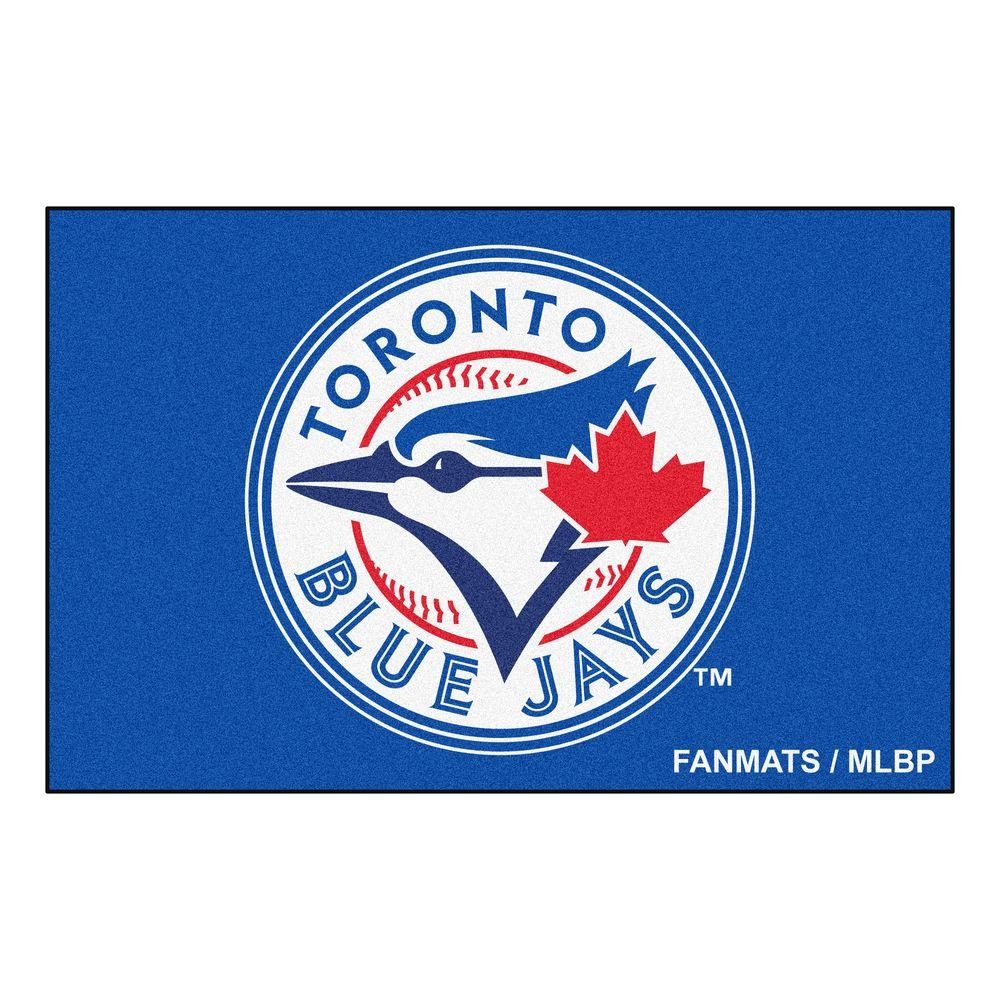 Toronto Blue Jays 19 in. x 30 in. Accent Rug