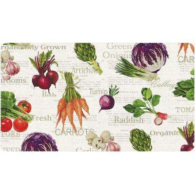 20 in. x 36 in. Veggie Foam Mat
