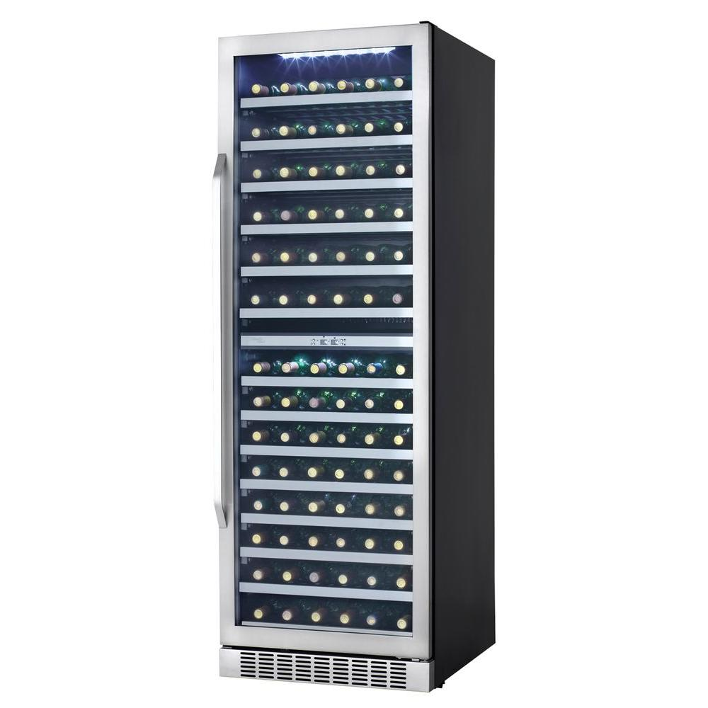 Danby Silhouette Select 24 in. 146-Bottle Wine Cooler with Two Temperature Zones