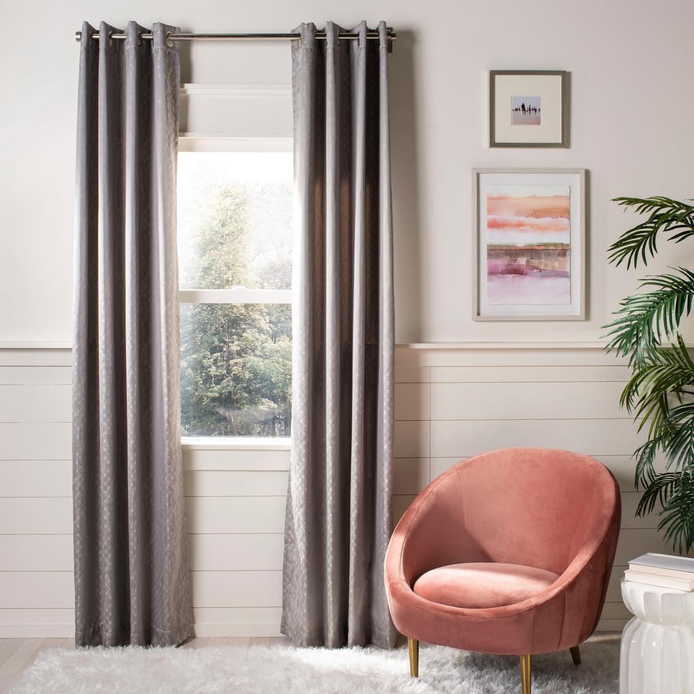 Bilra 52 in. W x 84 in. L Window Panel in Grey