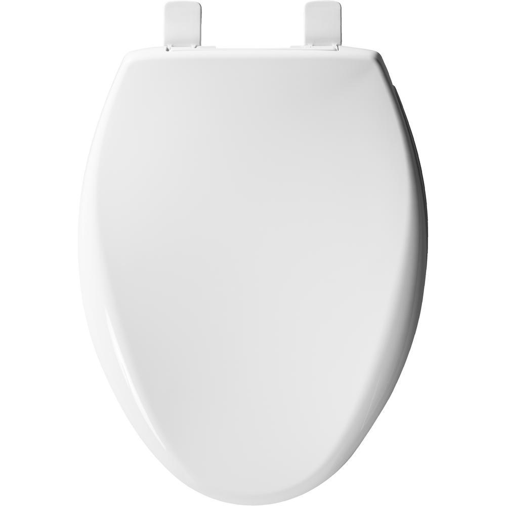 Bemis 7B1200E3 390 Affinity Plastic Seat Cotton White