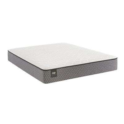 Response Essentials 11 in. Twin Cushion Firm Tight Top Mattress Set with 5 in. Low Profile Foundation