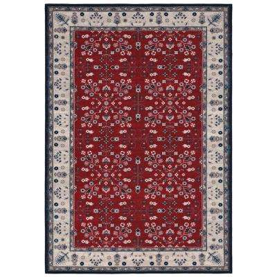 Red 5 X 7 Area Rugs Rugs The Home Depot