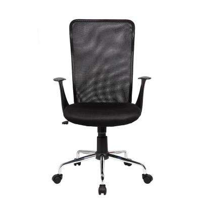 Black Medium Back Mesh Assistant Office Chair