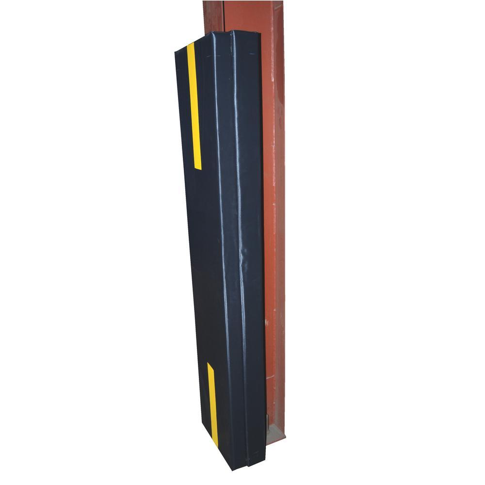 Vestil 6 ft. Black Foam Structural Column Pad for 4 in. I-Beam