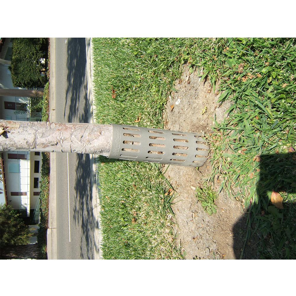 3 in. x 9 in. Polyethylene Expandable Tree Guard Tree Trunk