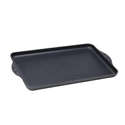 Classic Series 17 in. x 11 in. Non-Stick Double Burner Griddle