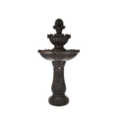 Salerno Cordless Fountain in Black