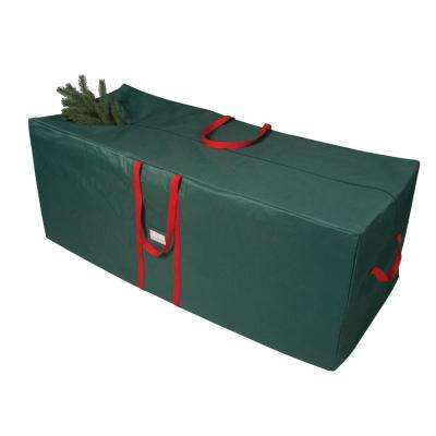 green and red 58 in artificial tree storage bag - Plastic Christmas Tree Storage Box