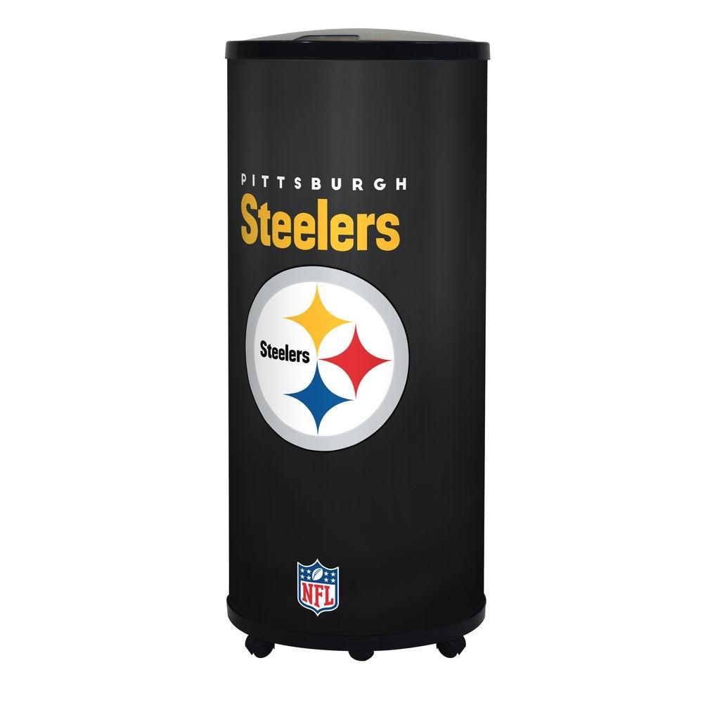 GLAROS NFL 22 Qt. Pittsburgh Steelers Ice Barrel Cooler