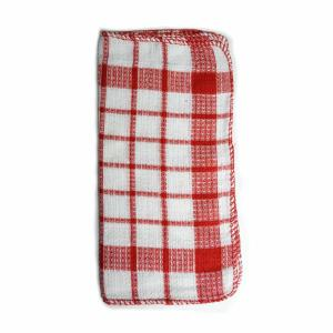 Home Basics Utility Kitchen Towel Set in Red (17-Piece) by Home Basics
