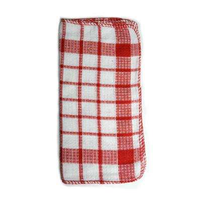 Utility Kitchen Towel Set in Red (17-Piece)