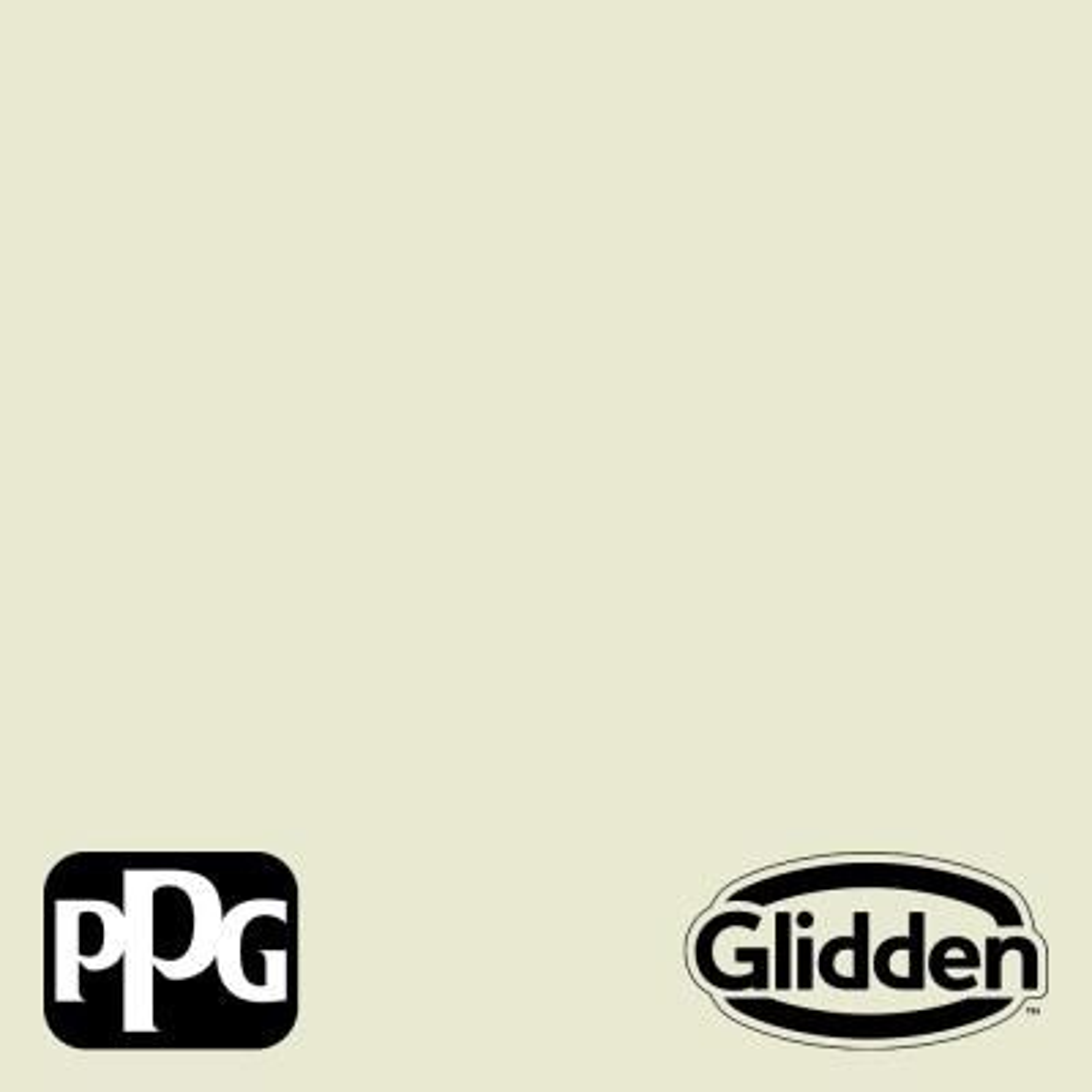 Glidden Premium 1 gal. PPG1119-1 Magical Melon Semi-Gloss Exterior Latex Paint