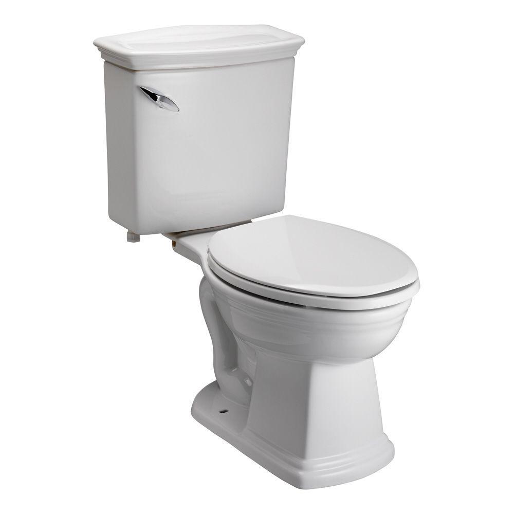 Pegasus Washington 2-Piece 1.6 GPF Elongated Toilet in White-DISCONTINUED