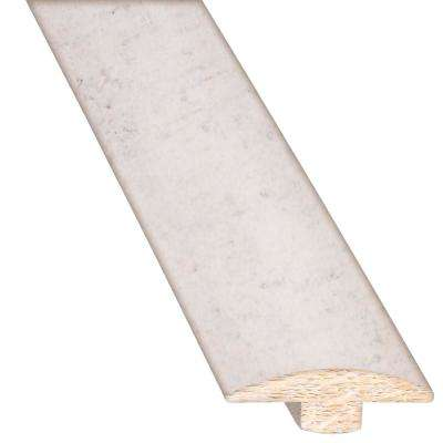 Linen 5/8 in. Thick x 2 in. Wide x 78 in. Length Hardwood T-Molding