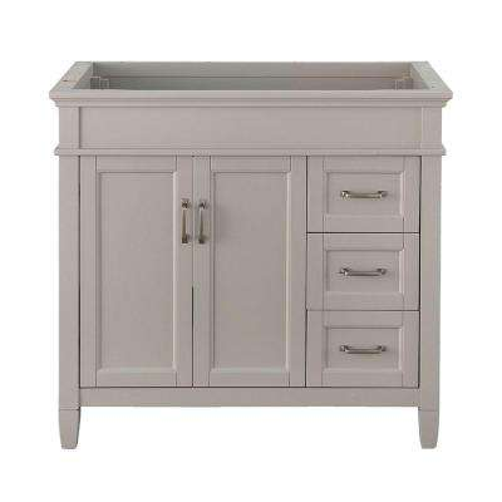 Ashburn 36 in. W x 21.75 in. D Vanity Cabinet in Grey