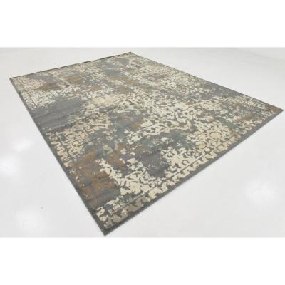 Tuareg Mirage Gray 9' 0 x 12' 0 Area Rug