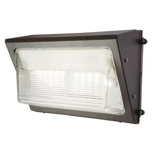 Halo Bronze Outdoor Integrated LED Wall Pack and Area Security Light by Halo