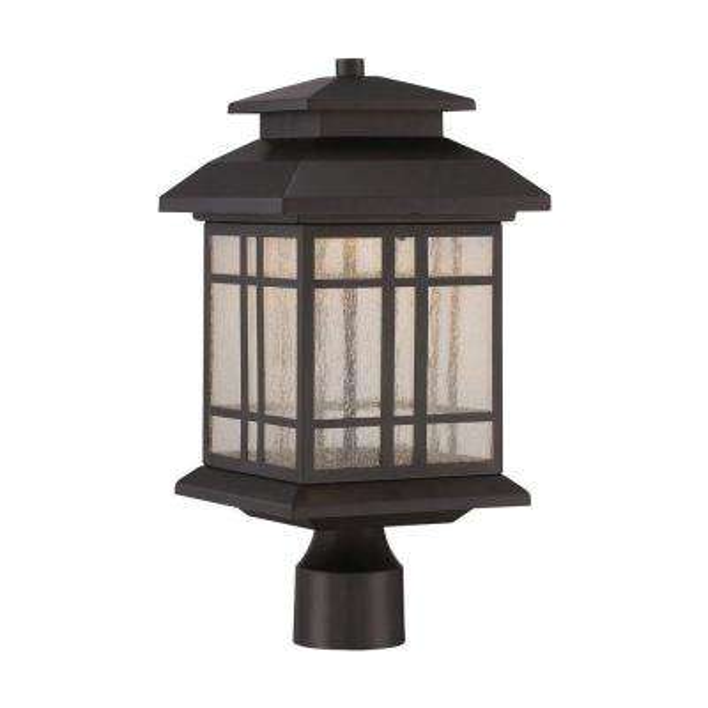 Piedmont Oil Rubbed Bronze Outdoor LED Post Lantern