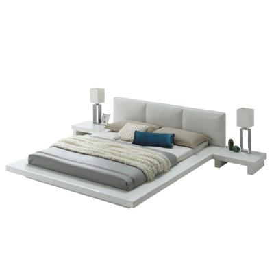 Christie Cal.King Bed in High Gloss White