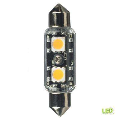 Ambiance 24-Volt LED Clear T3 Festoon Lamp (2700K)
