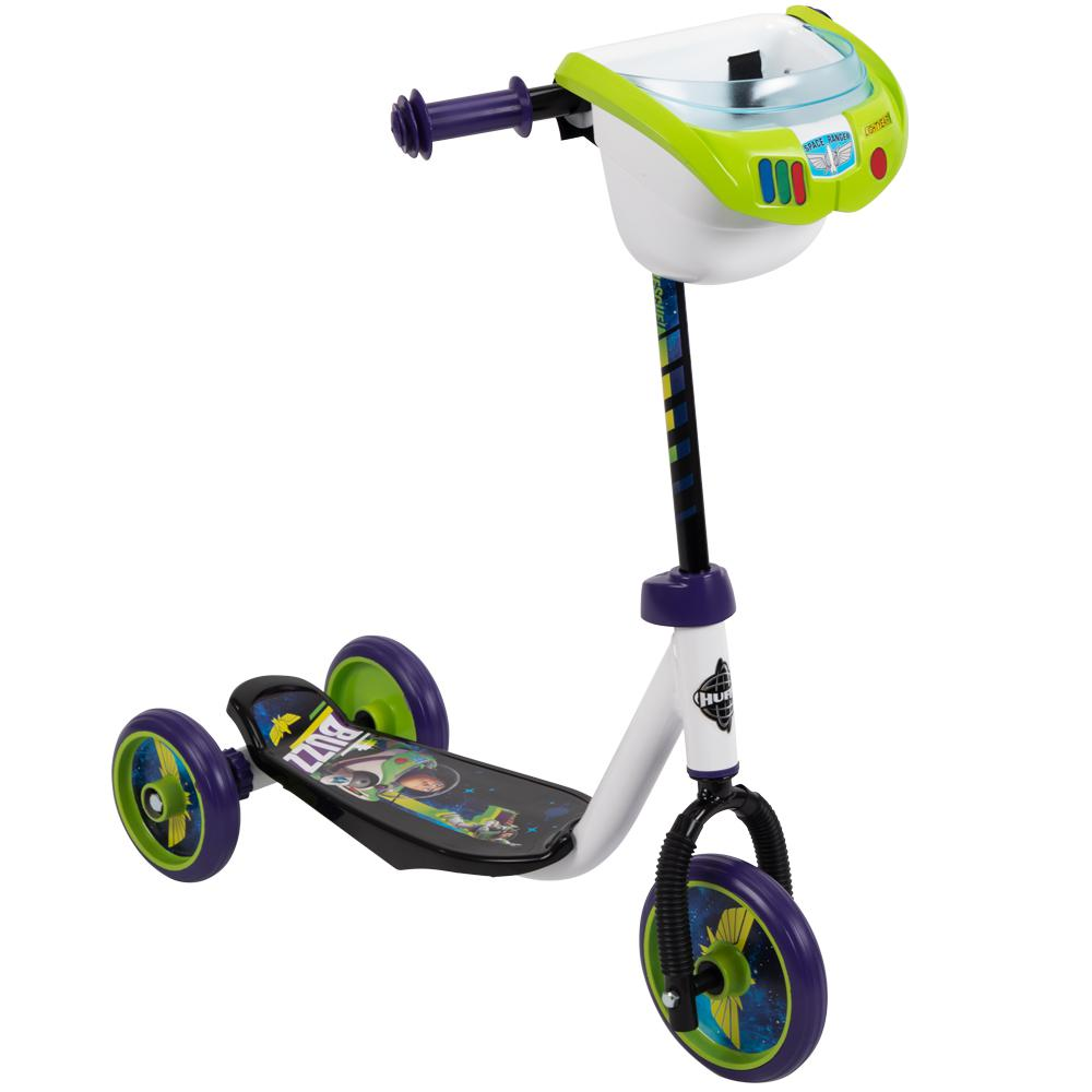 3 Wheel Scooter For Adults >> Huffy Boys Toy Story 3 Wheel Scooter With Bin