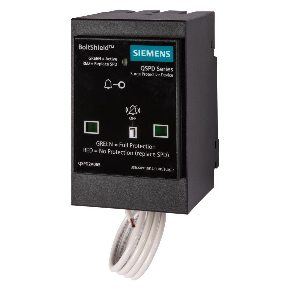 Boltshield QSPD 2-Pole 120-Volt/240-Volt 65kA Plug-In Surge Protection Device