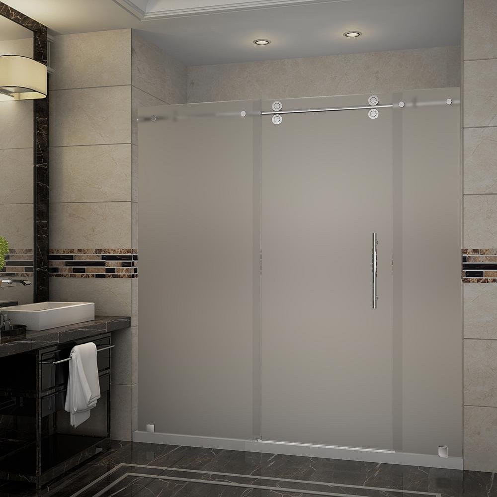 Aston Langham 72 In X 35 In X 775 In Frameless Sliding Shower