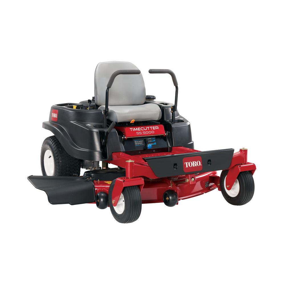 Toro timecutter 50 in 24 5 hp v twin zero turn riding for Depot moers