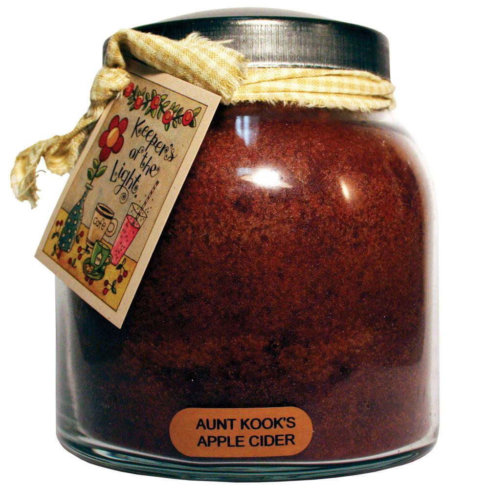 Aunt Kooks Apple Cider Glass Candle
