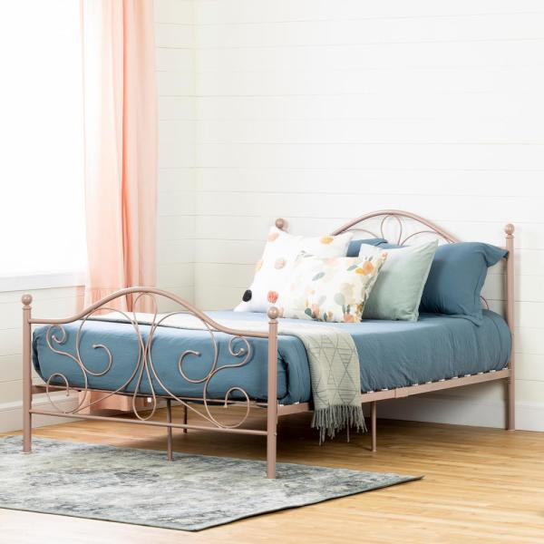 South Shore Summer Breeze Pink Blush Full Bed