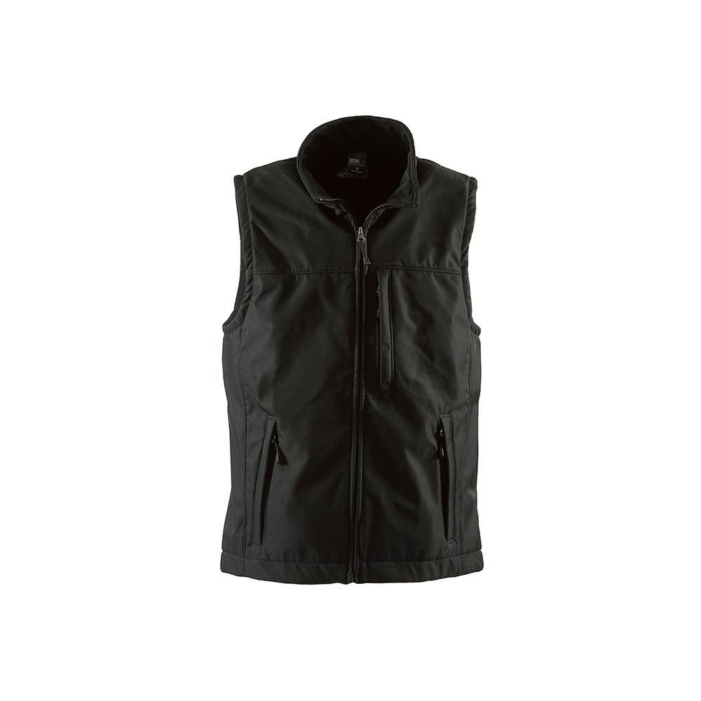 6e67b3f745 Berne Men's Large Black Polyester Wildhorn Softshell Vest ...