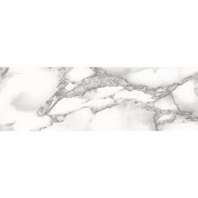 Carrara White Wall Adhesive Film (Set of 2)